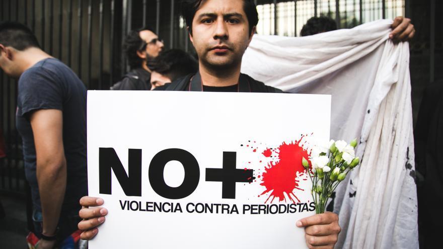 Manifestación contra el asesinato de periodistas en México / Itzel Plascencia López/ Amnistía Internacional México