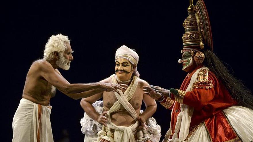 La transformación del Quijote bajo los arquetipos del teatro indio Kathakali