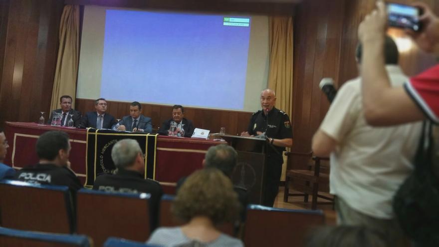 El Jefe Superior de la Policía Nacional en Andalucía Occidental comparece ante los medios
