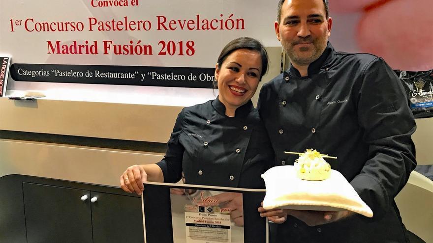 Alexis García, de Guía de Isora, con su propuesta culinaria en Madrid Fusión