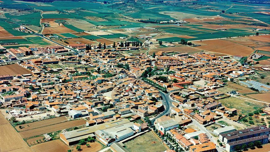 Marchamalo en 1999 FOTO: Ayuntamiento de Marchamalo