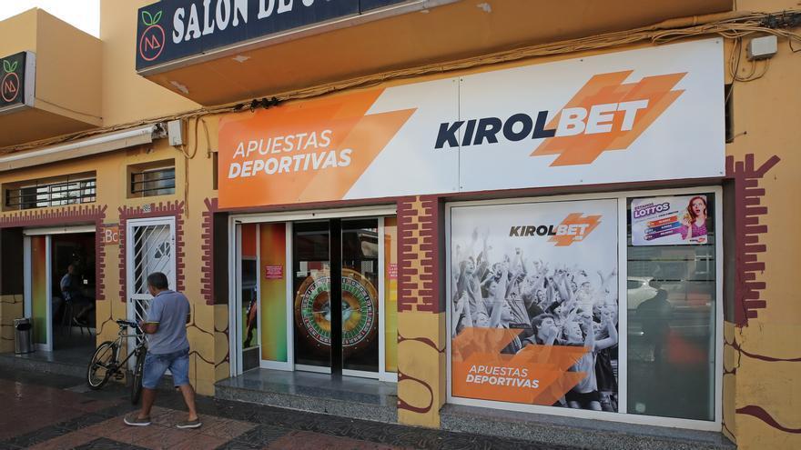 Local de apuestas Kirolbet en el Doctoral (Gran Canaria).