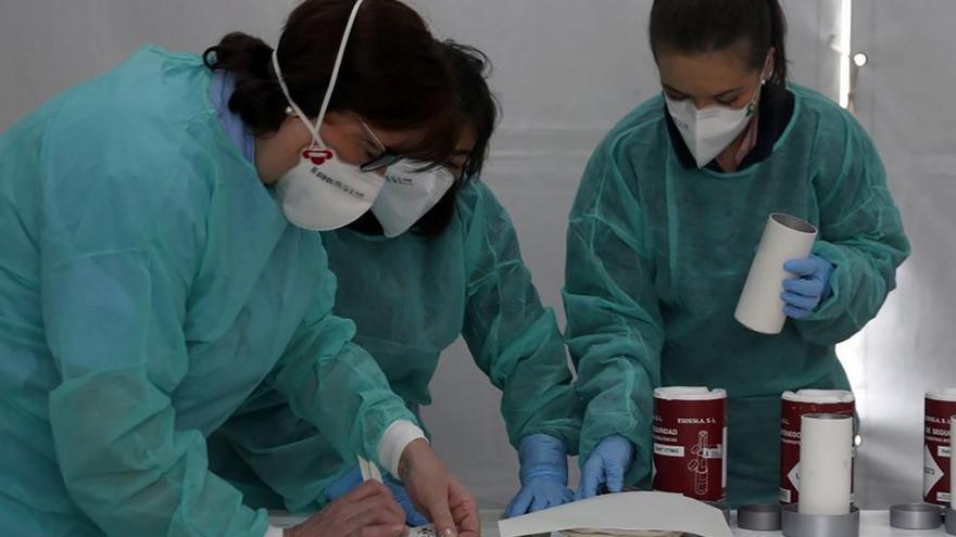Más de 1.100 enfermeras de Atención Primaria harán seguimiento de pacientes Covid y sus contactos