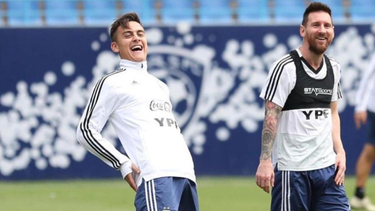 Messi y Dybala vuelven a compartir plantel en la Selección.