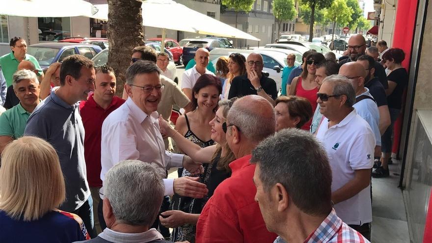 Puig dice que se propone continuar el proceso de innovación política en el partido si es reelegido secretario general