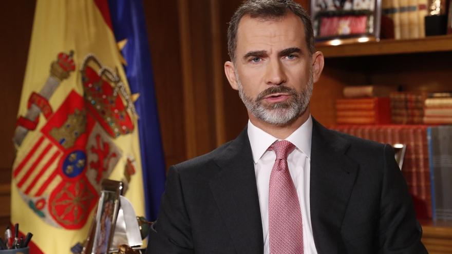 PP, PSOE y Ciudadanos relativizan la caída en la audiencia del discurso del Rey, que registró mínimo histórico