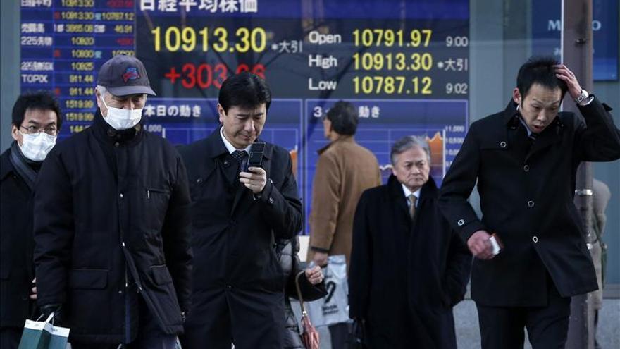 El Nikkei sube un 0,40 por ciento hasta 10.970,50 unidades