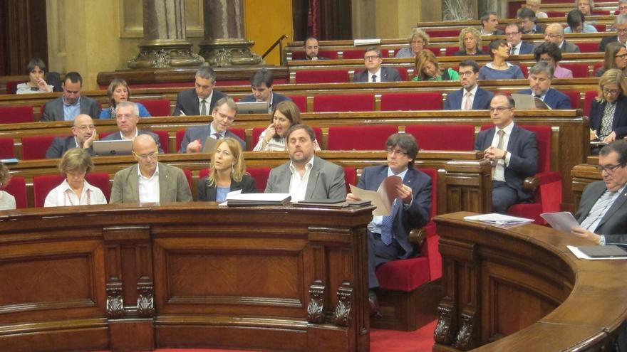 """Puigdemont a Rajoy tras el recurso del Gobierno en el TC: """"Hemos entendido el mensaje"""""""