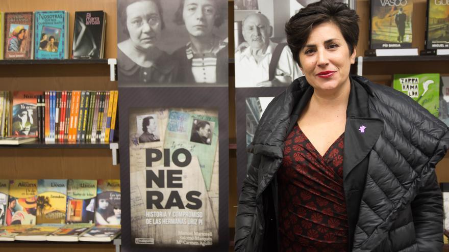La consejera de Educación y portavoz del Gobierno de Navarra, María Solana.