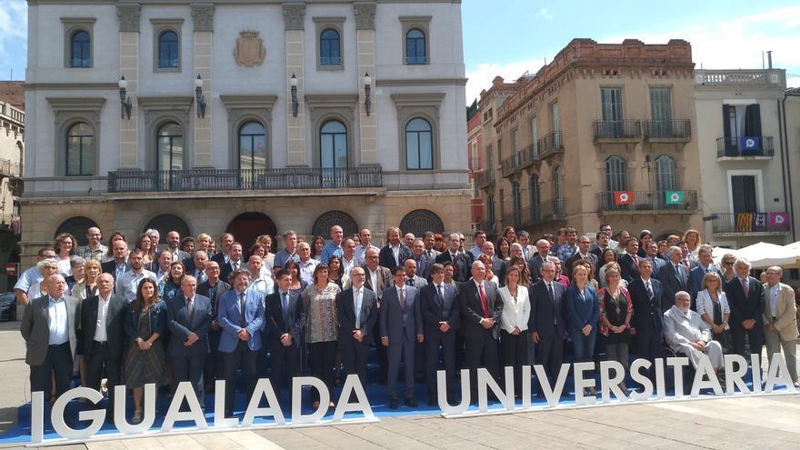 Puigdemont ve la creación del Campus Universitario de Igualada como un acto propio de Estado