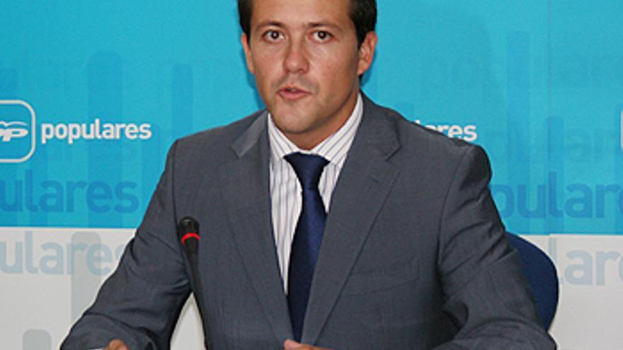 El diputado popular Carlos Velázquez