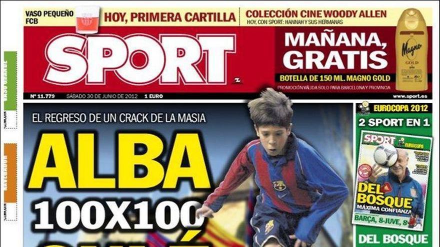 De las portadas del día (30/06/2012) #9