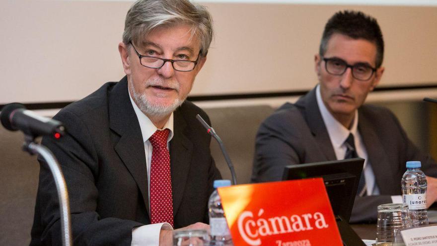 Pedro Santisteve ha inaugurado unas jornadas sobre contratación pública en la Cámara de Comercio de Zaragoza