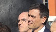 Pedro Sánchez y Ángel Gabilondo, en una imagen de archivo.