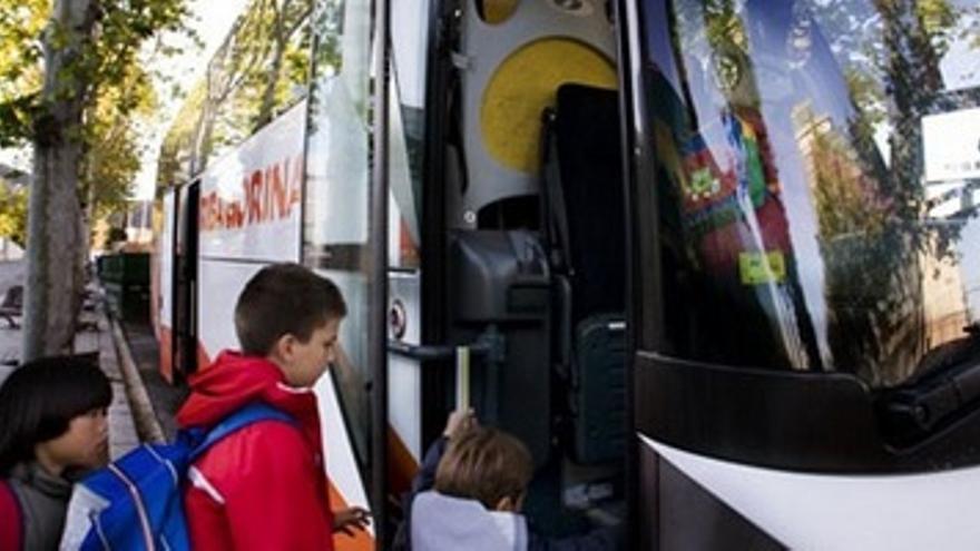 Evaluación al transporte escolar