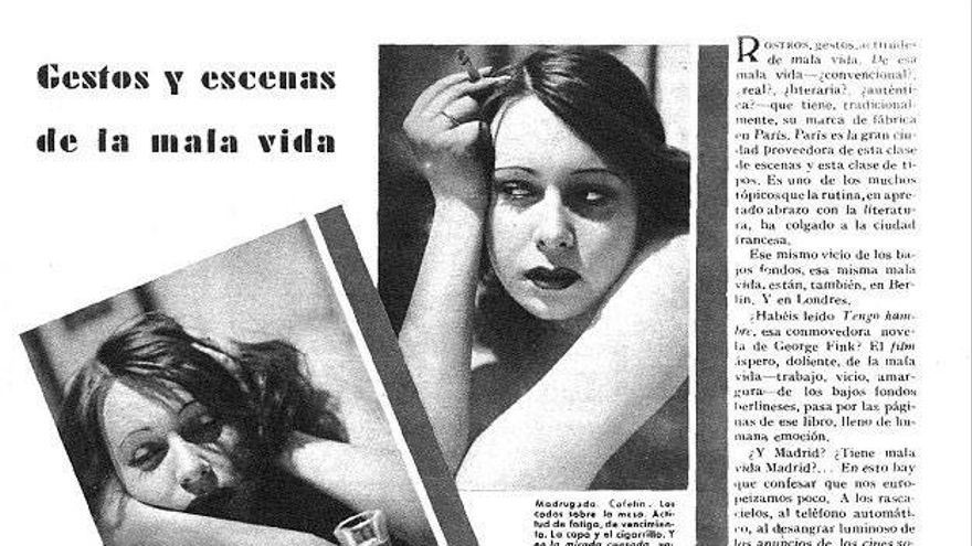 «Gestos y escenas de la mala vida» (1931) - Nuevo Mundo
