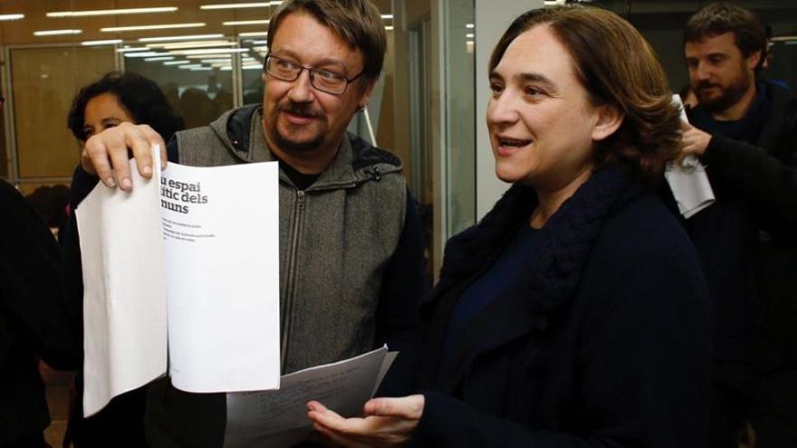 """El nuevo proyecto de Colau se propone ganar a la """"hegemonía conservadora"""""""