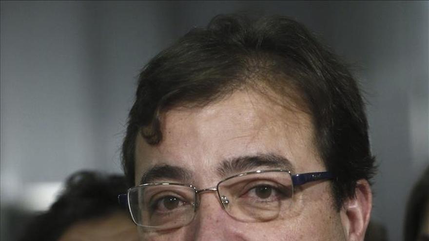 """Fernández Vara: la actitud del PP es """"un ejercicio de irresponsabilidad"""""""