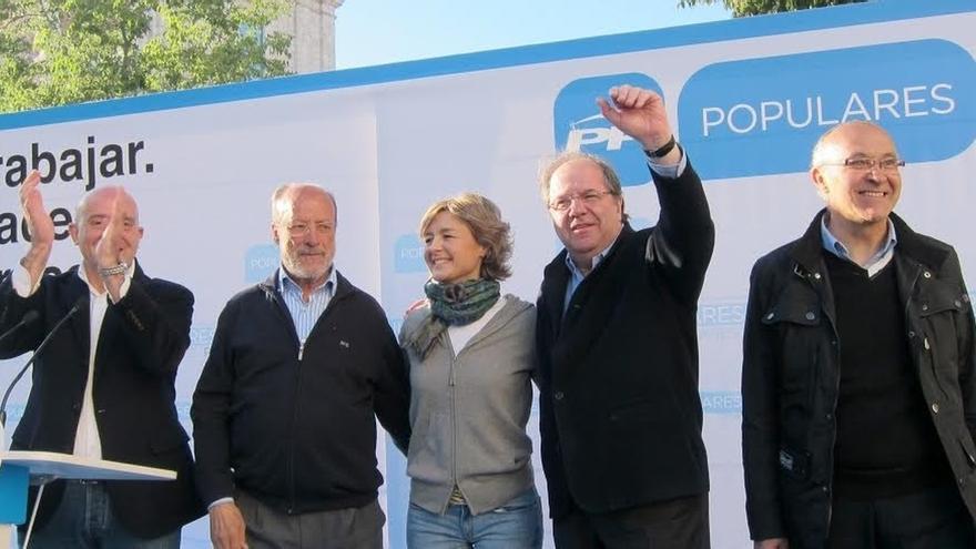 """Tejerina cree que los españoles """"nunca"""" estarán suficientemente agradecidos a Rajoy por su """"confianza"""" en el país"""
