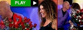 Arús y su mujer: el reencuentro en TV