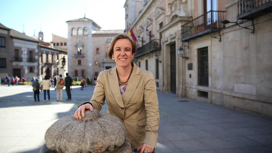 Puri Causapié, portavoz del grupo socialista en el Ayuntamiento de Madrid y miembro de la Ejecutiva del PSOE