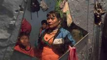 Olivia Cherichia es una de las lideresas de su comunidad. Vive en una habitación con sus siete hijos.