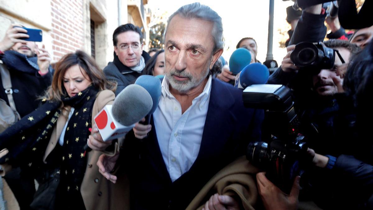 El cabecilla de la trama Gürtel Francisco Correa. EFE/Manuel Bruque/Archivo