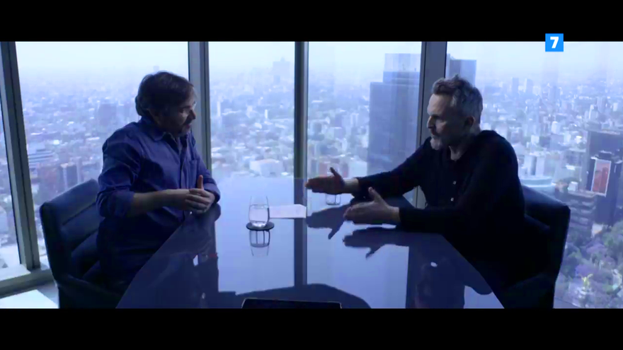 Jordi Évole y Miguel Bosé en el avance de la próxima entrega de 'Lo de Évole'