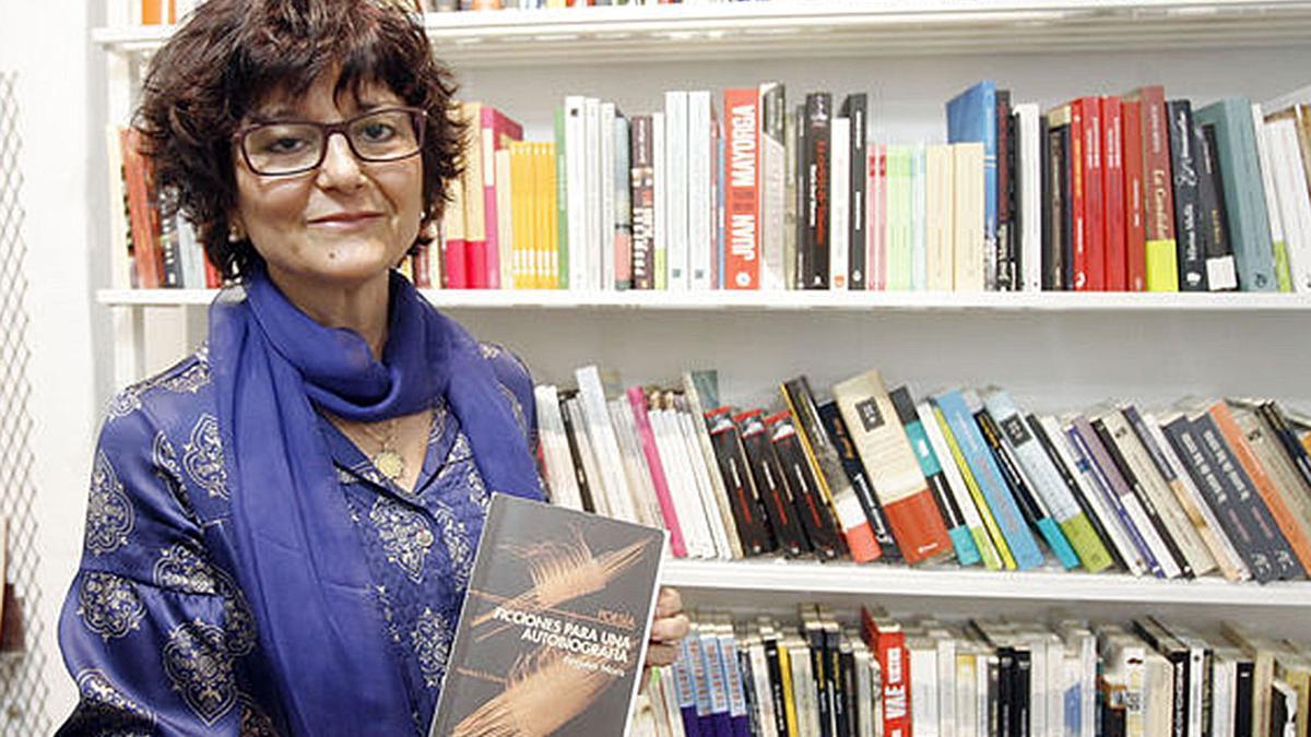 La escritora Ángeles Mora participará en el encuentro.