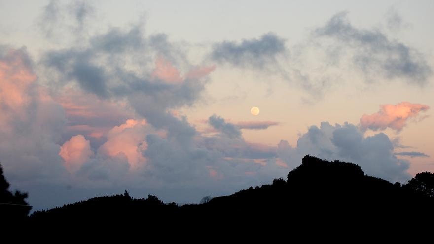 Temperaturas mínimas en ligero descenso  este domingo en La Palma