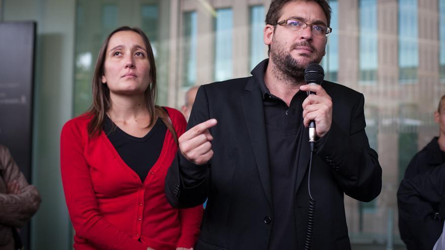 Albano Dante y Marta Sibina, de la revista Café Amb Llet