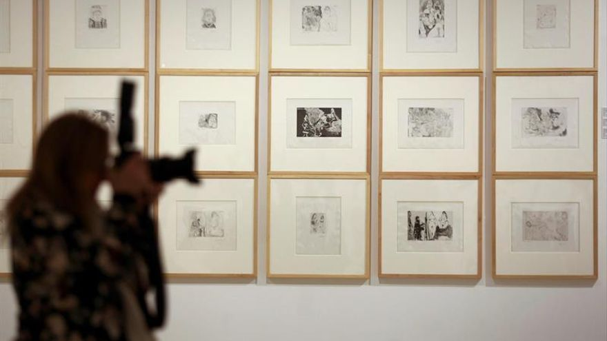 Suite 347 refleja la complejidad iconográfica y la maestría técnica de Picasso