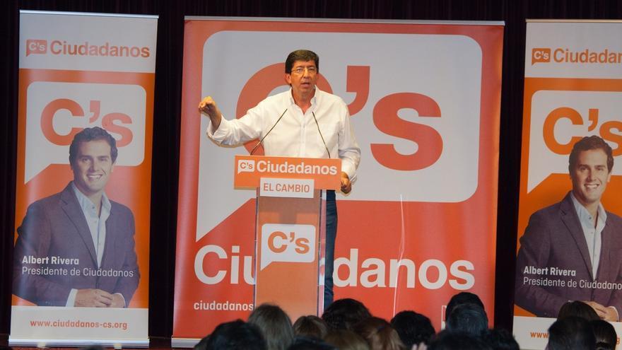 """Marín (C's) dice que el discurso de Díaz, """"marcado por tintes nacionales"""", se ha """"alejado de la realidad"""" de andaluces"""
