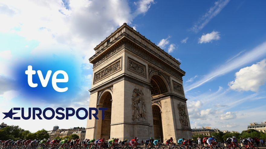 Guía televisiva para ver el Tour de Francia 2020 en TVE y Eurosport