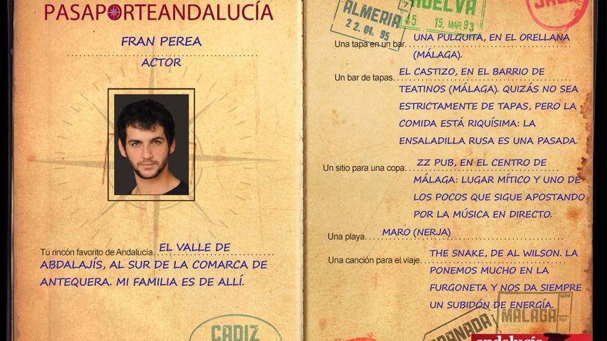 Pasaportest, con Fran Perea.