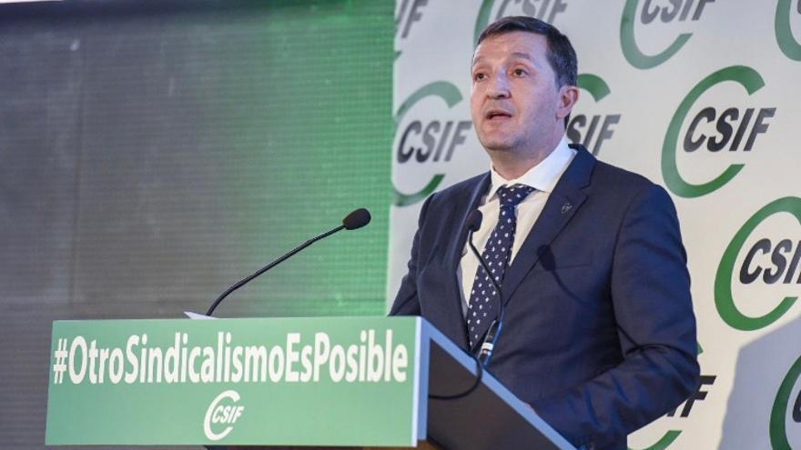 Benito Román, reelegido presidente regional de CSIF para los próximos cuatro años