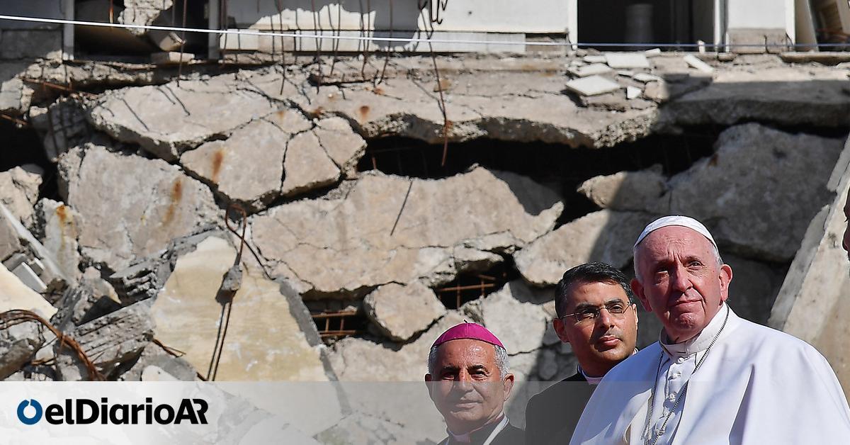 Image En Irak, el papa Francisco afirmó que