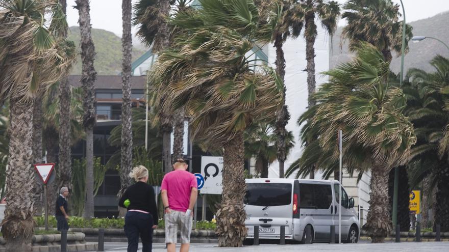 Viento en Las Palmas de Gran Canaria