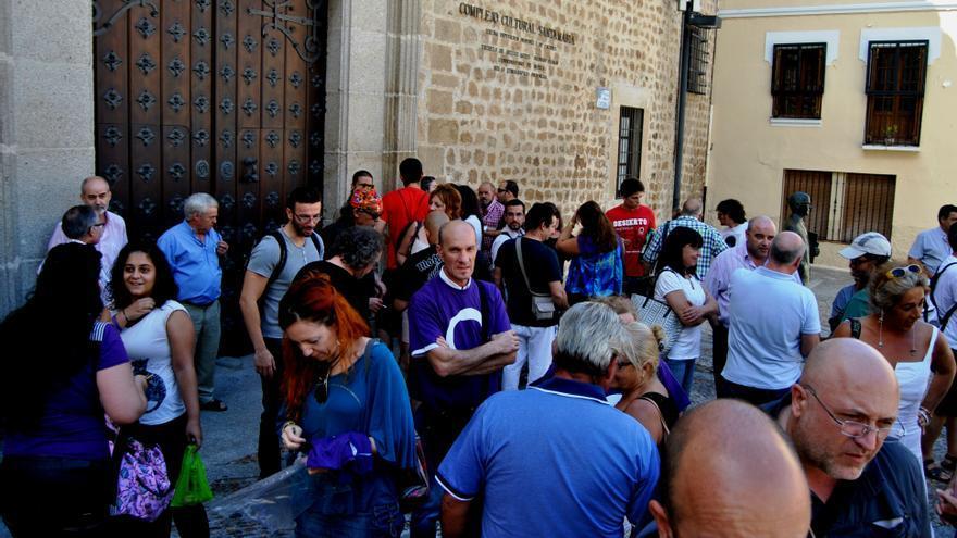 Imagen del encuentro regional de Podemos / JCD
