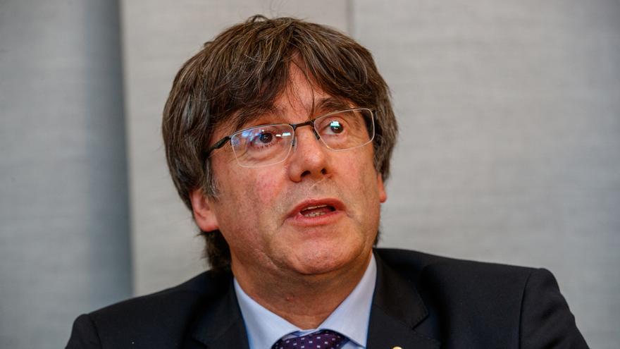 """Puigdemont tilda de """"cinismo"""" que se ofrezca ampliar el Estatut en las negociaciones de investidura"""