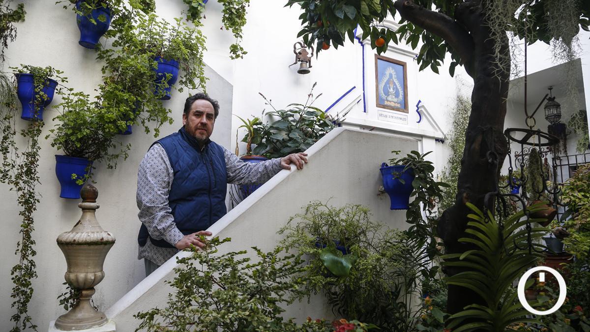 Rafael Barón, presidente de la Asociación Claveles y Gitanillas