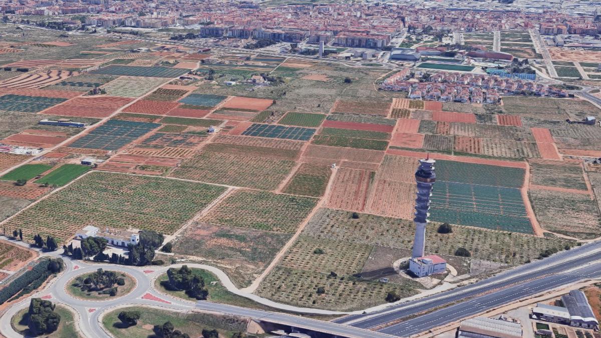 Terrenys on s'havia projectat el PAI Nou Mil·lenni.