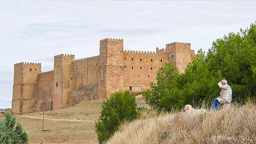 El castillo y Parador de Sigüenza, en Guadalajara