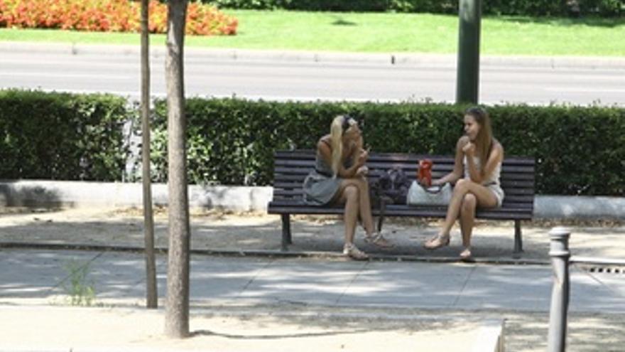 Turistas En Un Parque