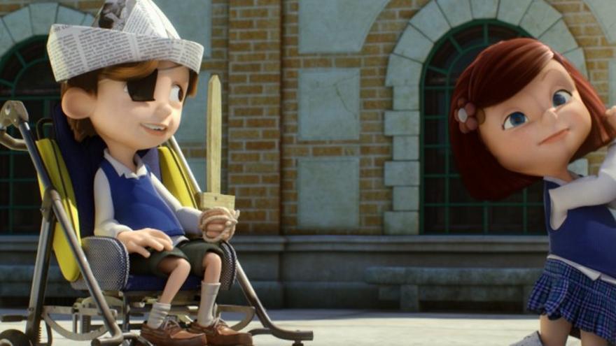 """Imagen del corto """"Cuerdas"""""""