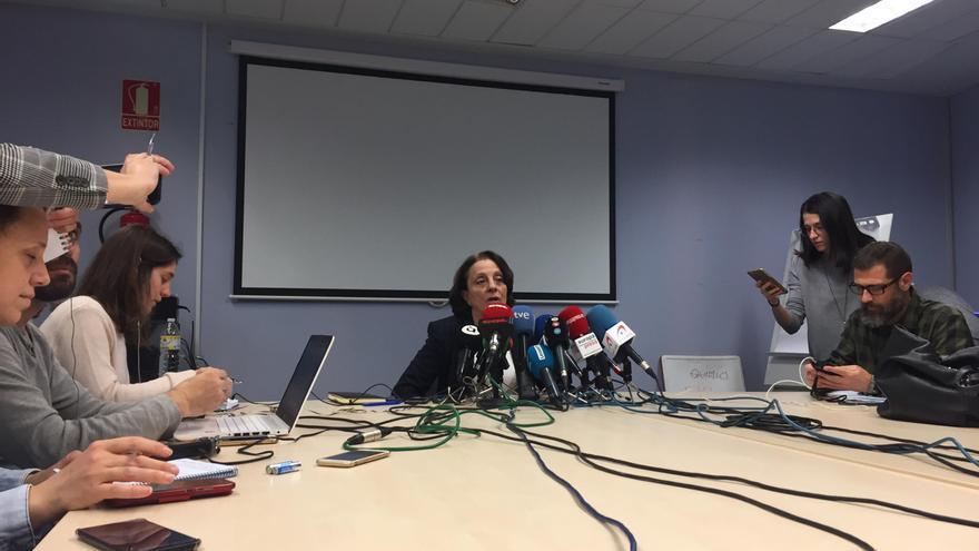 La subdirectora general de Epidemiología, Hermelinda Vanaclocha,