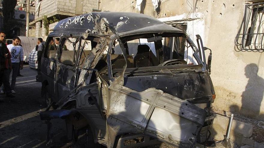 Siria acusa a Israel de lanzar misiles contra un aeropuerto cercano a Damasco