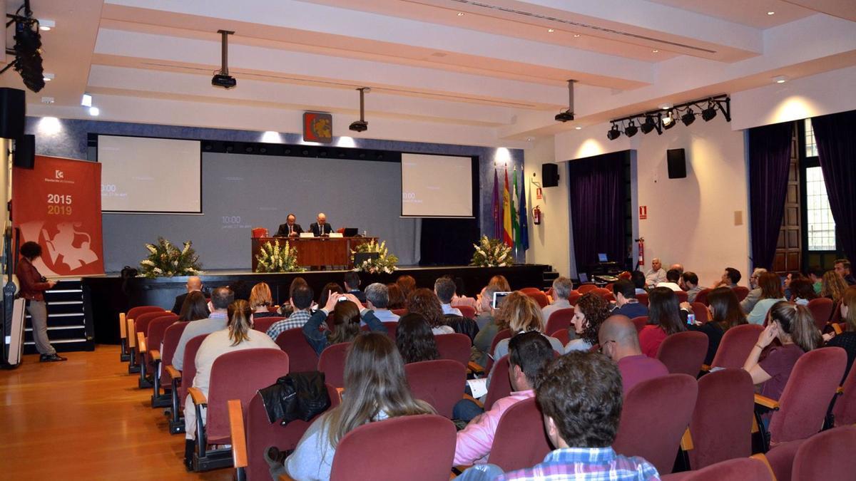 Encuentro en la Diputación de Córdoba de dinamizadores locales de la Red de Centros Guadalinfo, en una imagen de archivo.