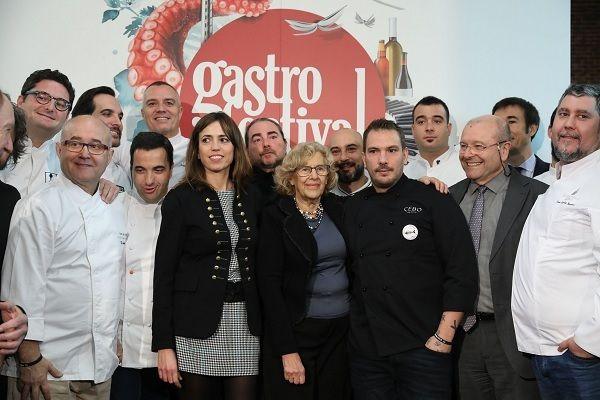 Manuela Carmena en la presentación de Gastrofestival 2018 | Fotografía: Ayuntamiento de Madrid