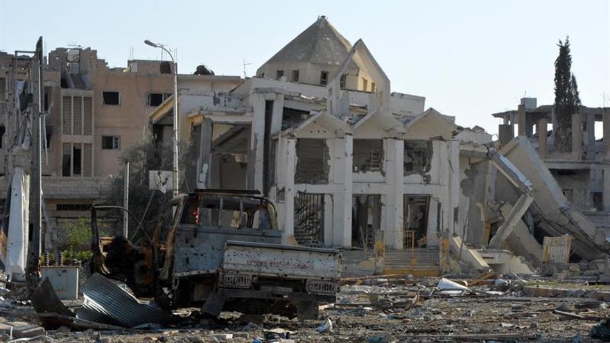 Turquía acusa a Estados Unidos de ayudar al Estado Islámico a huir de Al Raqa